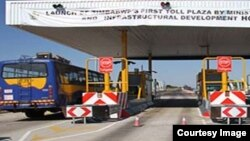 The lawyers are questioning the validity of the government's move to amend roads regulations to effect tollgate charges. (ZINARA website)