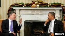 Obama y Juan Manuel Santos pusieron en marcha una estrategia para reforzar la seguridad en la región en 2012.