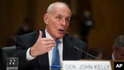 De ser confirmado el general retirado John Kelly se convertirá en el quinto secretario de Seguridad Nacional de EE.UU.