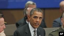 Le président Barack Obama a qualifié le comportement de la Russie en Ukraine « d'illégal » (AP)