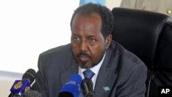 Rais wa Somalia Hassan Sheikh Mohamud
