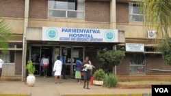 The strike started at Parirenyatwa Hospital in Harare. (File Photo)
