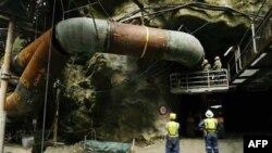 Mỏ than Pike River gần Atarau, New Zealand
