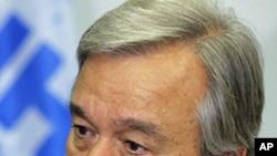 U.N. High Commissioner for Refugees Antonio Guterres (file photo)