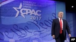 دونالد ترمپ در مجلس محافظه کاران امریکا در گیلرد مریلند