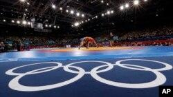 올림픽 레슬링 경기 모습 (자료사진)