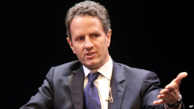 US Treasury Secretary Timothy Geithner (File)