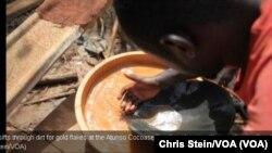 Emgodini wokwemba igolide