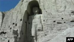 Tượng Phật khắc trong vách núi ở Bamayan, Afghanistan