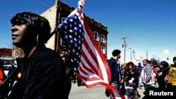 Para aktivis pendukung hak-hak sipil Amerika di Selma, Alabama (foto: dok).