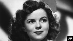 Shirley Temple tahun 1946.