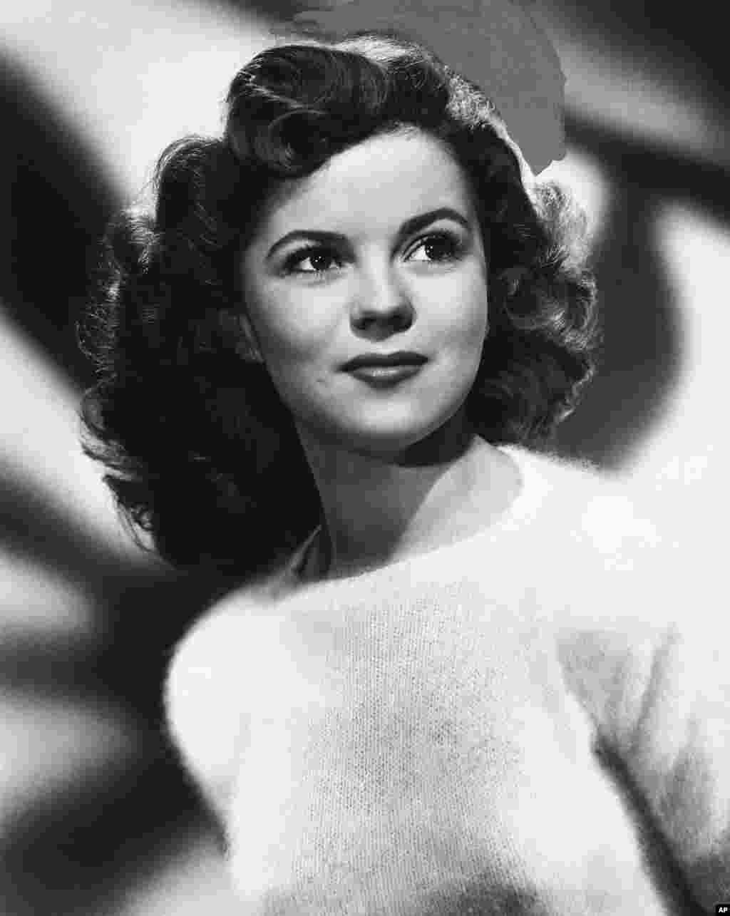 Shirley Temple pada tahun 1946.