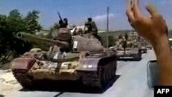 Sirijski tenkovi često učestvuju u akcijama ugušivanj antivladinih protesta