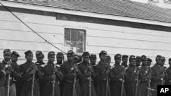 美国内战时期的黑人士兵