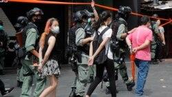 Vague d'arrestations à Hong Kong