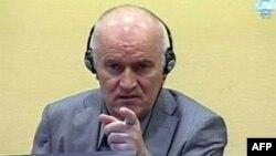 Ратко Младич на суде в Гааге