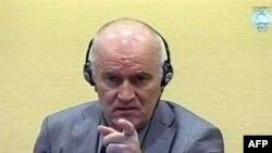 Ратко Младич на суде вГааге. 3 июня 2011г.