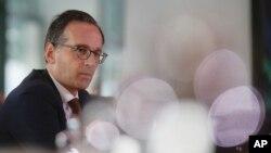 El ministro de Justicia alemán Heiko Maas dijo que los arrestos son un importante golpe al extremismo en su país.