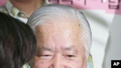 메구미의 아버지 요코다 시게루 씨 (자료사진)