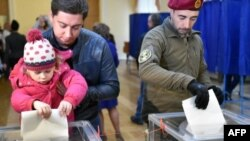 اوکراین وایي دغه انتخابات په مکمله توګه غیر قانوني دي