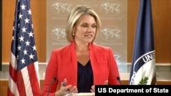 헤더 노어트 미 국무부 대변인.