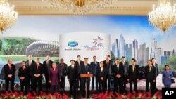 亚太经济合作组织领导人发表声明