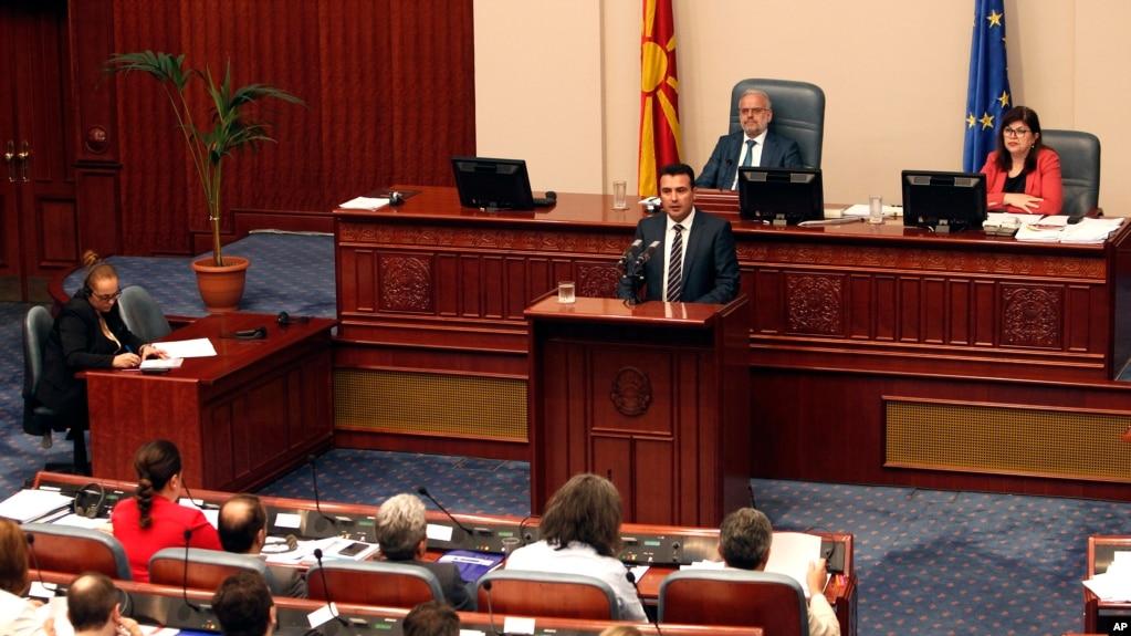 Shkup, parlamenti ratifikon marrëveshjen për emrin