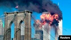Arhivski snimak terorističkog napada na Njujork, 11. septembar 2001.