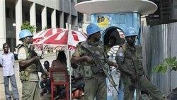 ایالات متحده خواستار افزايش نیروهای حافظ صلح بین المللی در ساحل عاج شد