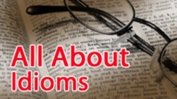 All About Idioms: In The Dark