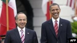 Obama Calderon'la Görüştü