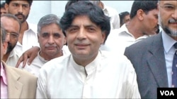 وفاقی وزیر داخلہ چودھری نثار