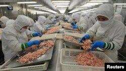 중국 산동성의 식품 공장 (자료사진)