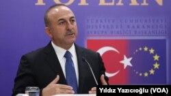 Министр иностранных дел Турции Мевлют Чавушоглу (архивное фото)