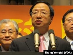 台湾行政院长江宜桦(美国之音张永泰拍摄)