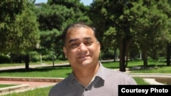 中央民族大學維吾爾族學者伊力哈木.土赫提(網絡圖片)