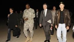 سفر معاون رییس جمهوری آمریکا به عراق ، گشایش روابط تازه با عراق