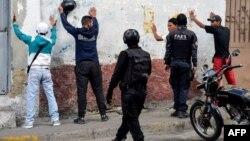 نیروهای سیاهپوش موسوم به «گروه نیروهای ویژه پلیس ملی»