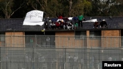 호주 시드니의 난민수용소. (자료사진)