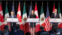 VOA: EE.UU. Canadá espera negociación comercial
