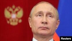 Rusya Cumhurbaşkanı Vladimir Putin