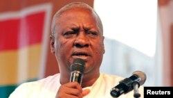 Le président ghanéen, John Dramani Mahama