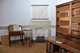 Madison's Library at Montpelier, in Orange Virginia