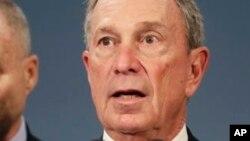Le maire Michael Bloomberg a pris position contre le port d'armes illicites