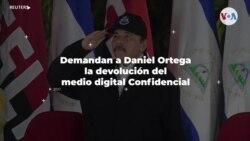 Exigen a Daniel Ortega la devolución del medio digital Confidencial