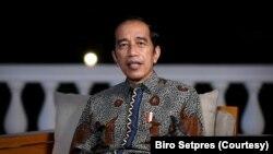 Presiden Jokowi di Istana Merdeka, Jakarta, Jumat, 26 Maret 2021. (biro Setpres).