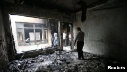 اتحادیه میهنی کردستان می گوید به دفتر این حزب در شهر زاخو در شمال عراق حمله شده است.
