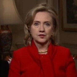Hillary Clinton's video message