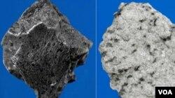 Los pedazos de roca encontrados pesaban en total 6,8 kilogramos.