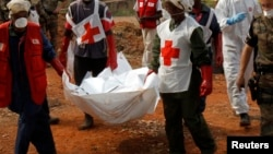 La Société de la Croix-Rouge ne peut intervenir si elle se sent menacée, a fait valoir son président en Centrafrique, Antoine Mbao Gobo